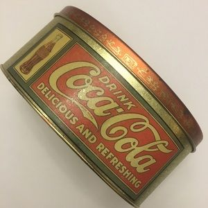 1988 Coca-Cola Tin Canister